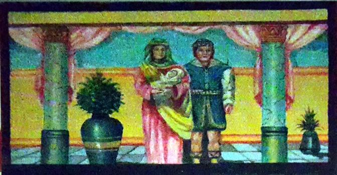 2008 Roget Bactong - San Nicolás de Tolentino is Born in 1245