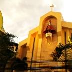 Project 8, Quezon City: Sto. Niño Parish Shrine, creating peace in Bago-Bantay
