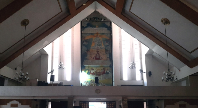 1978 Sto. Nino Parish Shrine, Narthex
