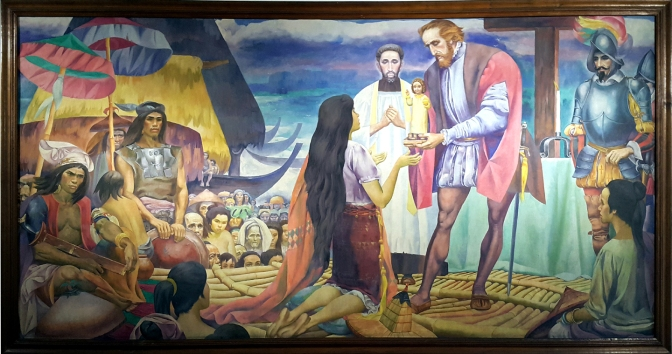 1965 Carlos 'Botong' V. Francisco - The Presentation of the Santo Niño in Cebu, National Museum of the Philippines