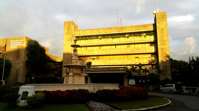 1980 Gabriel Formoso - MWSS Administration Building and Francisco Carriedo Fountain