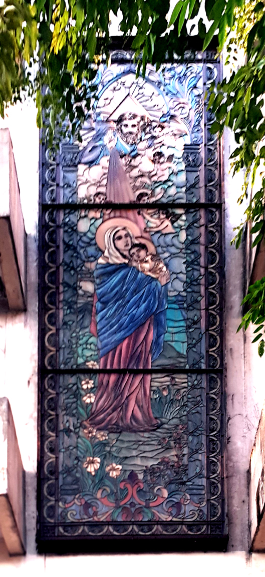 1978 Sto. Nino Parish Shrine, Stained Glass
