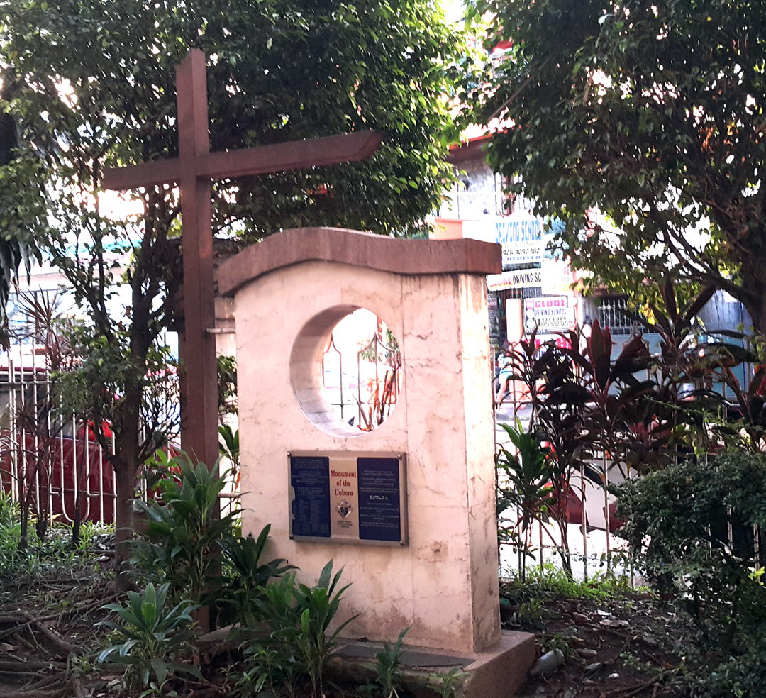 2006 Knights of Columbus, Monument to the Unborn Child