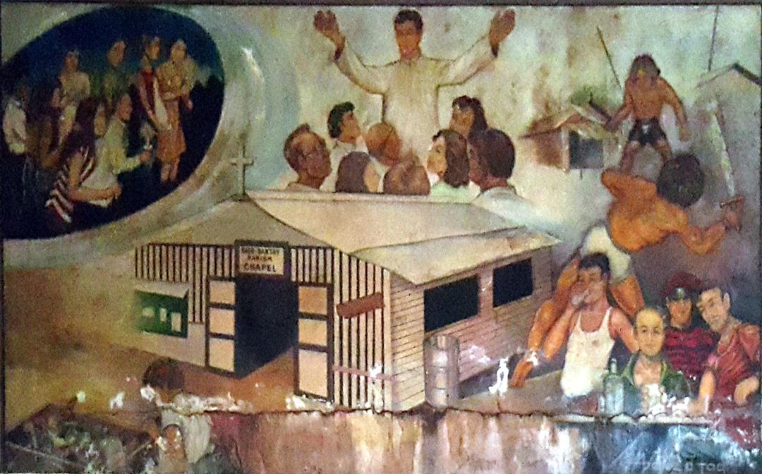 1984 Jess M. Perez & Jim de Tagle - Establishment of the Sto. Nino Parish Shrine