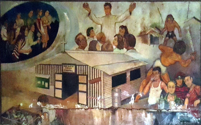 1984 Jess M. Perez & Jim de Tagle - Establishment of the Sto. Nino Parish Shrine