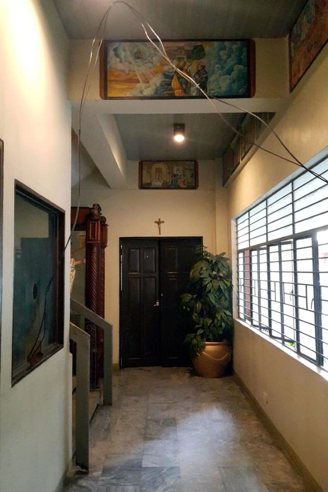 Pastoral Center Hallway
