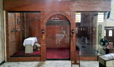 2008 San Nicolas de Tolentino, Altar to the Tabernacle