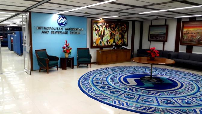 MWSS Fourth Floor Lobby