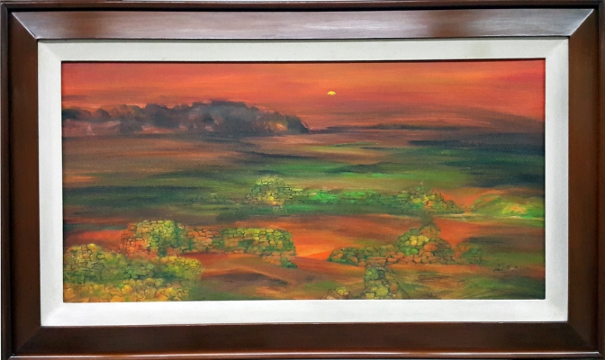 1980 Juvenal Gerrit Sanso - Sunset