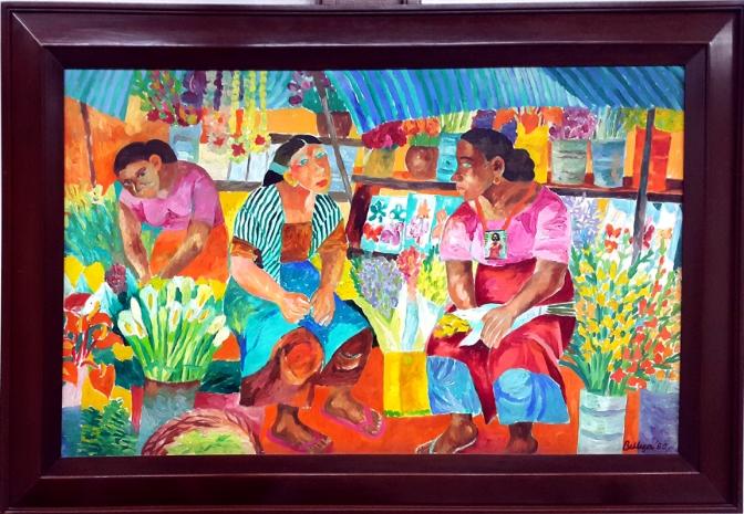 1980 Norma Belleza - Flower Vendors