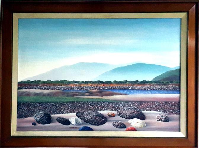 1984 Prudencio Lamarroza - Seascape