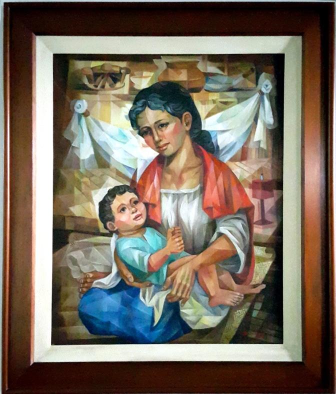 1980 Angelito Balagtas - Mother & Child