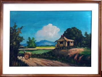 1972 Unknown Artist - Countryside Home
