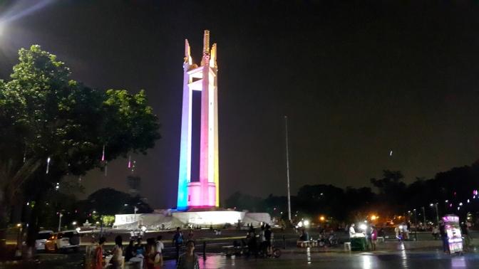 1952-78 Quezon Memorial Shrine, from the Elliptical Road