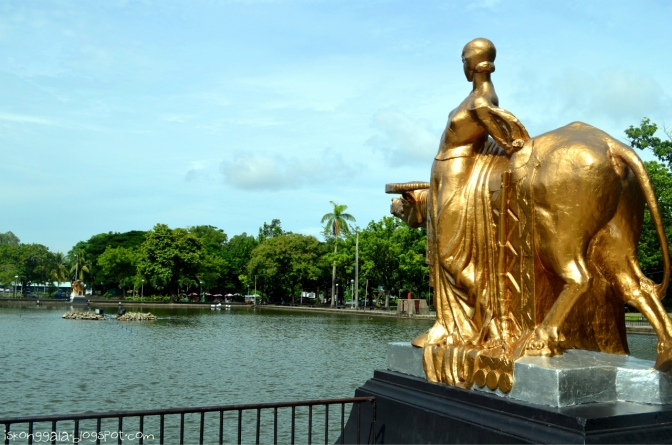 1933-1935 Francesco Riccardo Monti, Negros Occidental Provincial Capitol, Provincial Park and Lagoon, Bacolod