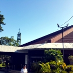 Katipunan Avenue, Quezon City: Sta. Maria della Strada Parish