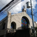 University of the Philippines, Quezon City: Holy Cross Parish Church, Krus na Ligas