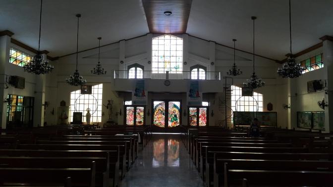 1987 San Isidro Labrador Parish Church, Narthex and Choir Loft