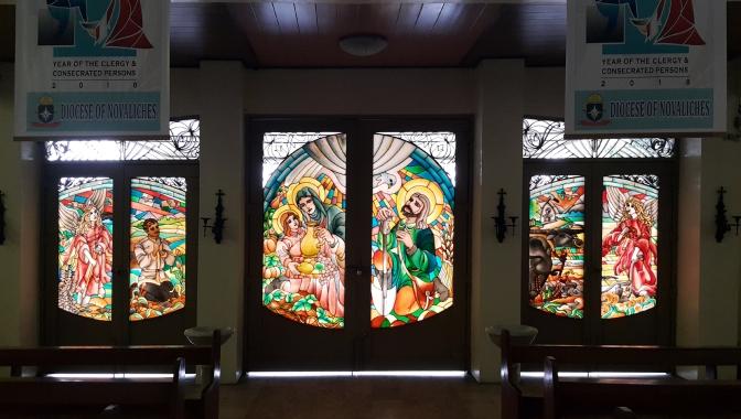 1987 San Isidro Labrador Parish Church, Door, The Mircales of San Isidro