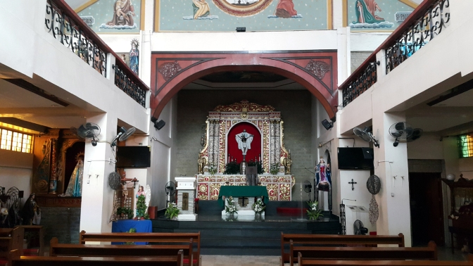 03 1998 Holy Cross Parish Church, Altar
