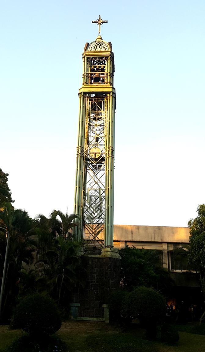 04 1981-1983 Marcos de Guzman - Sta. Maria della Strada Bell Tower