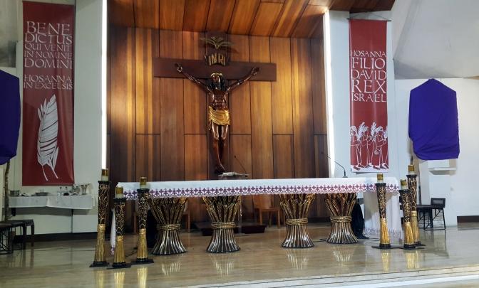 05 1981-1983 Sta. Maria della Strada, Nave & Altar, Solomon Saprid