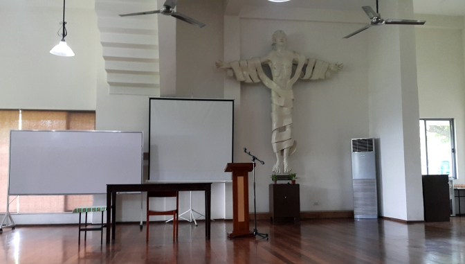 05 2003 Blessed Peter Faber Wing, Abueva's Victorious Crucifix