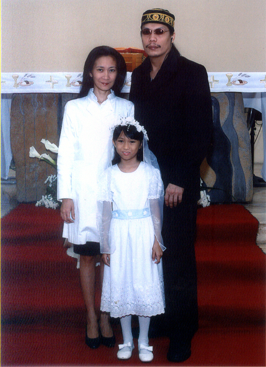15 2010 Gabbie's First Communion at the Our Lady of the Pentecost Parish