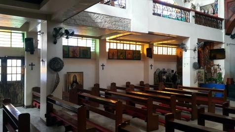 1998 Holy Cross Parish Church Aisle