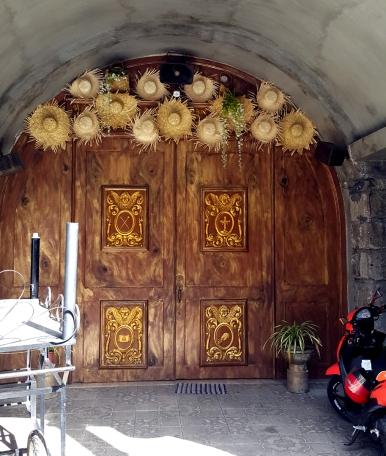 1998 Holy Cross Parish Church, Door