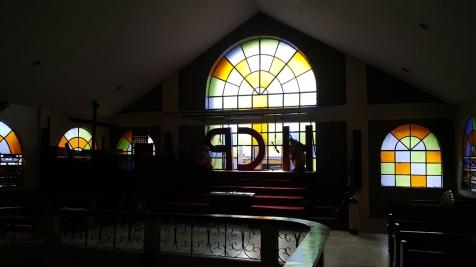 1998 Holy Cross Parish Church, Porch