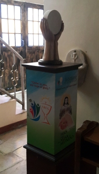 Eucharistic Congress Donation Box