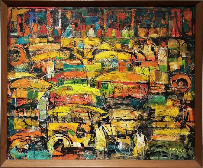 08 1951 Vicente Manansala - Jeepneys