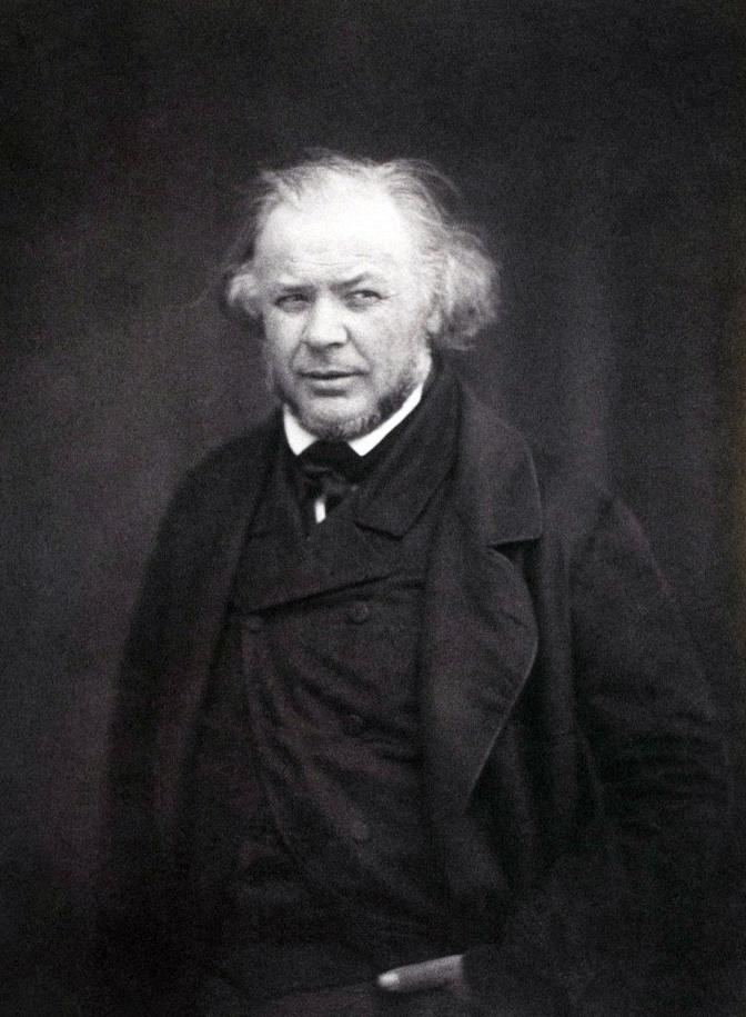 02 1850 Honoré Daumier by Victor Laisné (1830-1911)