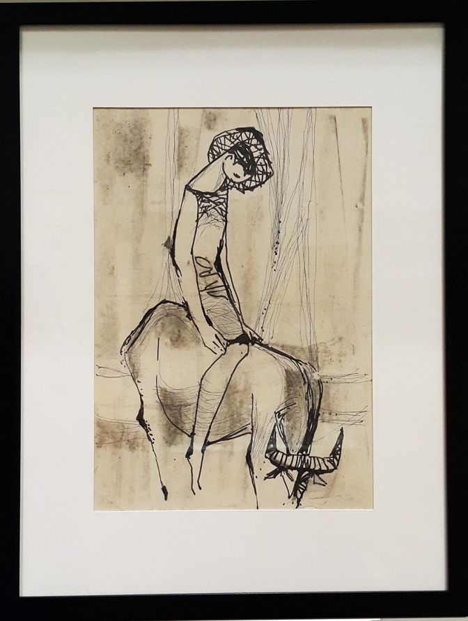 04 Manuel Rodriguez, Sr. - Study for Boy on Carabao