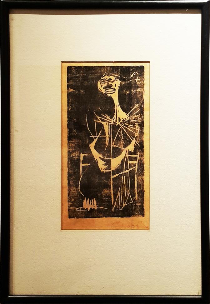 05 1952 Fernando Zobel - Woman Sitting