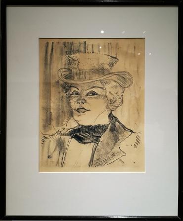 1898 Henri de Toulouse-Lautrec - Madame Rejane