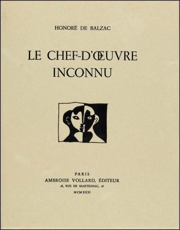 1931 Pablo Picasso - Le Chef d'Oeuvre Inconnu