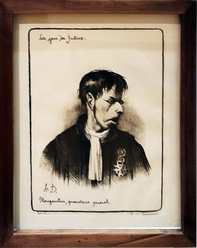 1845 Honoré Daumier - Les Gens de Justice, Plougoutin, Procutcul General