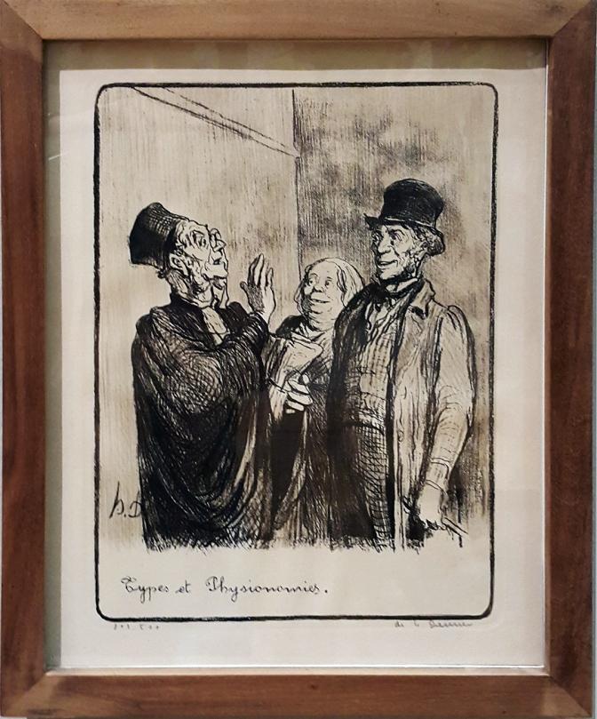 1845 Honoré Daumier - Les Gens de Justice, Types et Physionomies