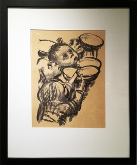 1920s Kathe Kollwitz - Children Begging Food