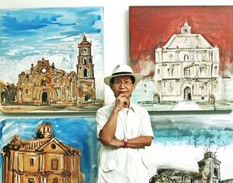 Virgilio 'Pandy' Arguelles Aviado (born 1944) co Maison Magloyuan