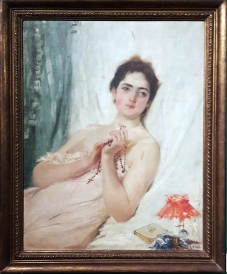 1900s Juan Luna y Novicio - Portrait of a Lady, National Museum of the Philippines