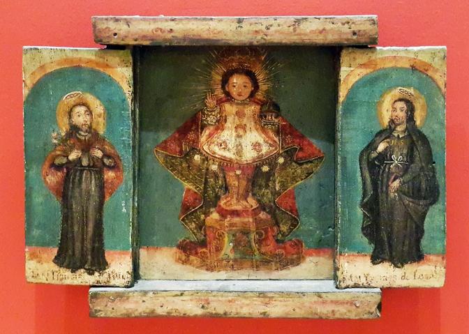 05 19th Century San Ignacio de Loyola, Sto. Niño and San Francisco Xavier