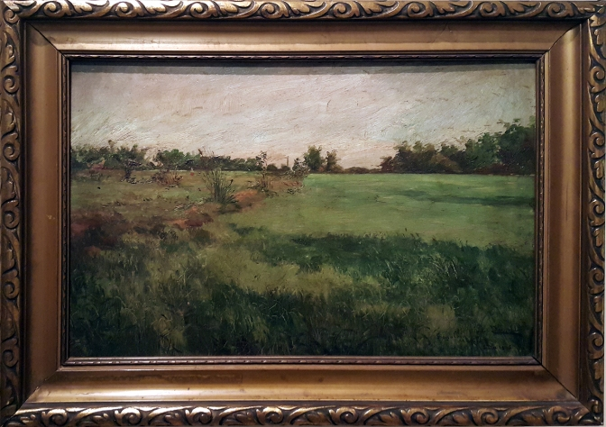 10 1905 Patricio Gaston O'Farrell - Ricefield in Singalong, U.P. Jorge B. Vargas Museum and Filipiniana Research Center