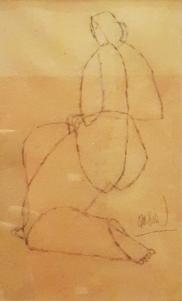 1940s Arturo Luz - Nude