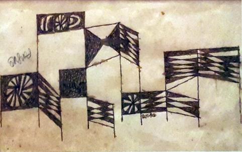 1950s Arturo Luz - Carnival Forms