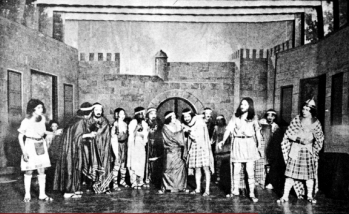 1923 Ateneo de Manila's staging of Macbeth
