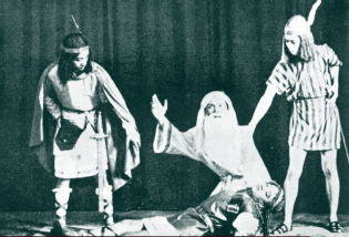 1933 Ateneo de Manila's staging of King Lear