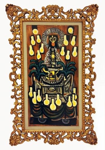 1953 Fernando Zobel - Carroza, Ateneo Art Gallery